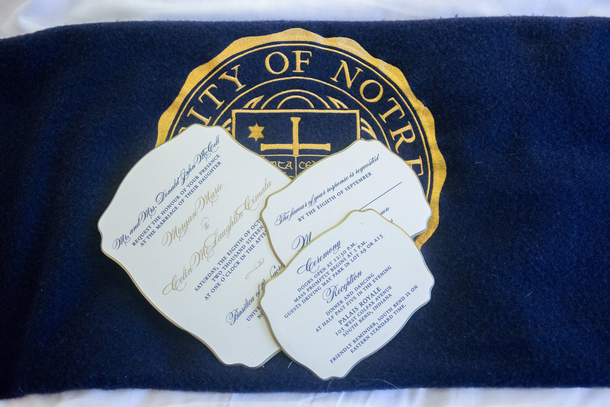 Invitations at the Morris Inn, University of Notre Dame