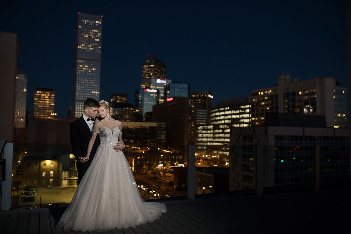 Denver Skyline City Wedding -1261