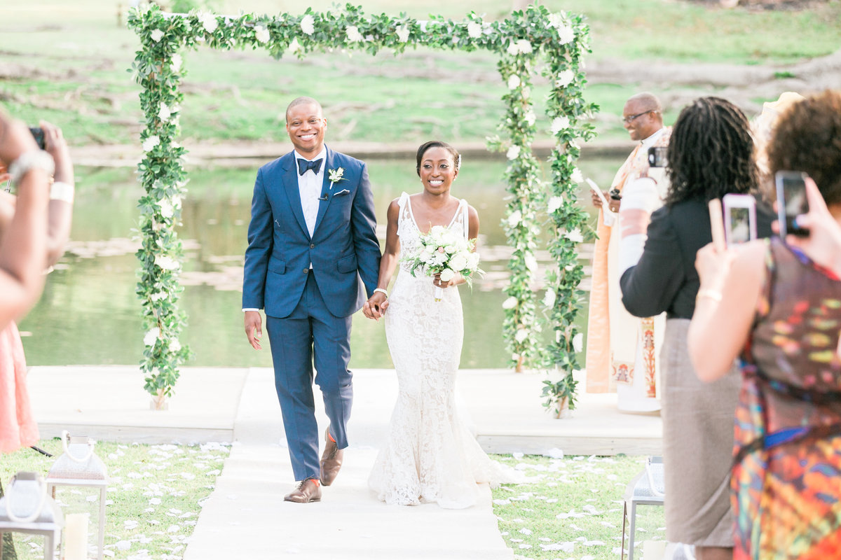 First moment of Husband and Wife at Barbados destination wedding