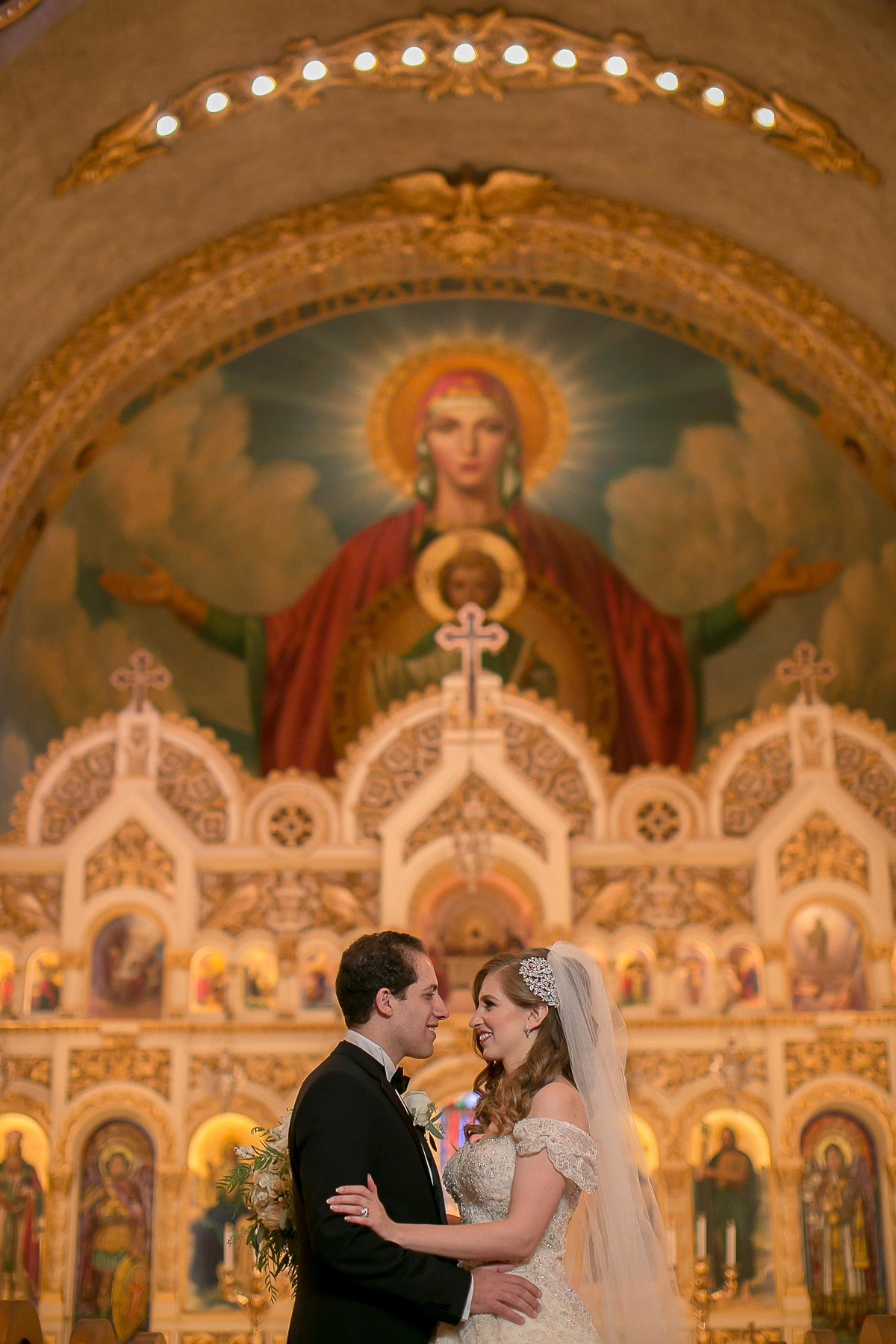 Saint Sophia Cathedral Wedding Portraits