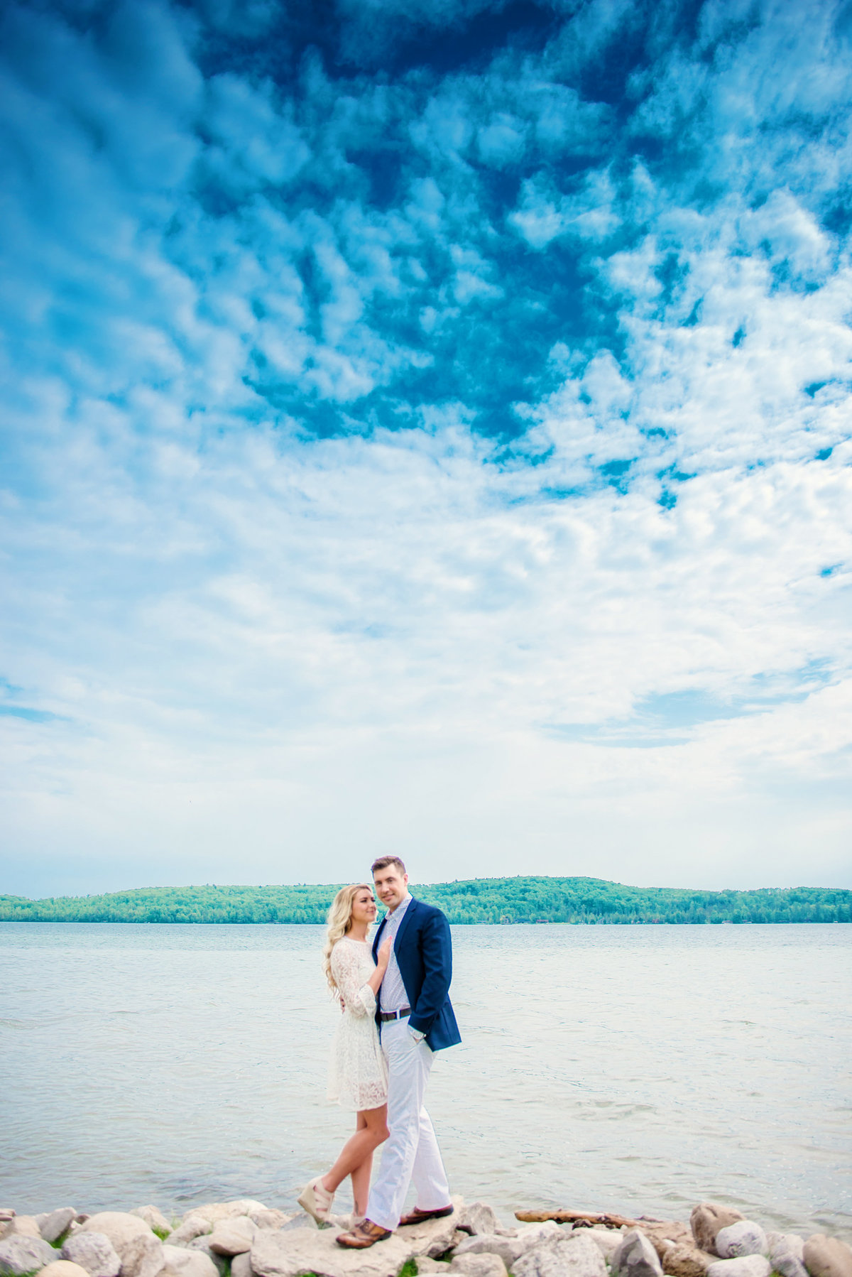 traverse city michigan engagement photographers