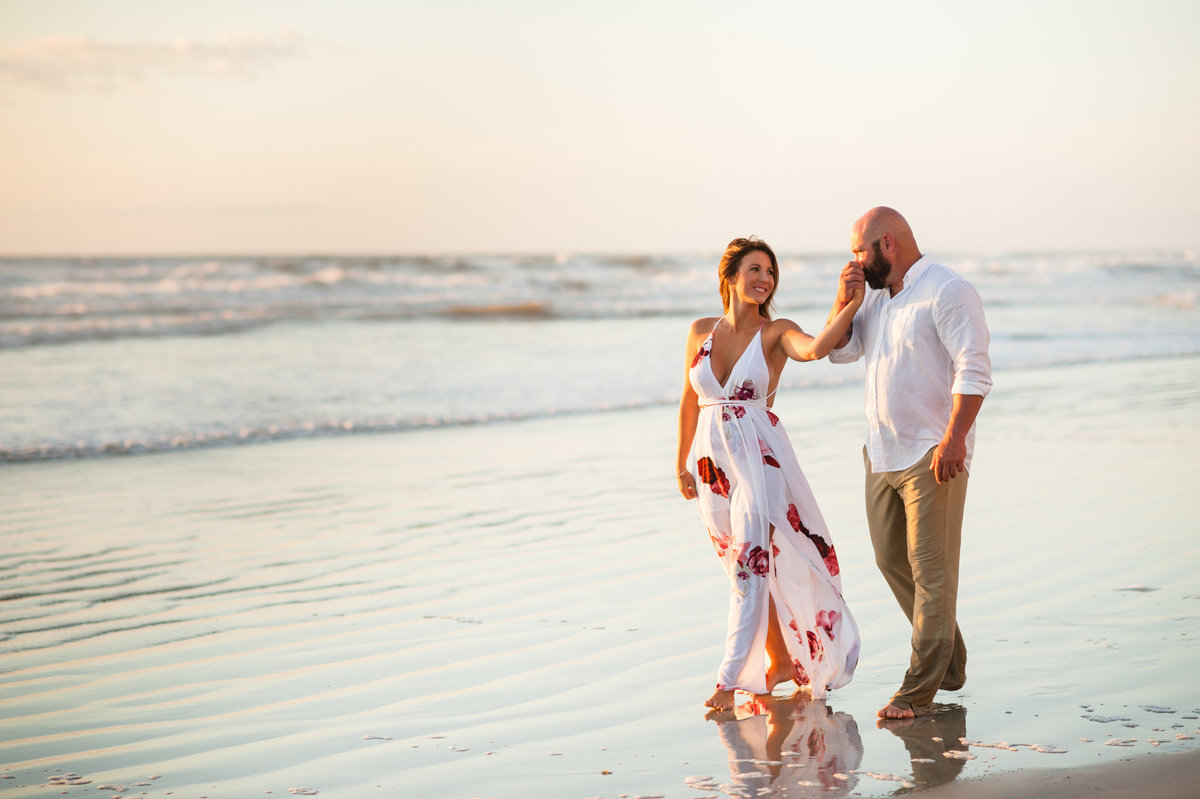 Daytona Beach couple portrait anniversary engagement photography