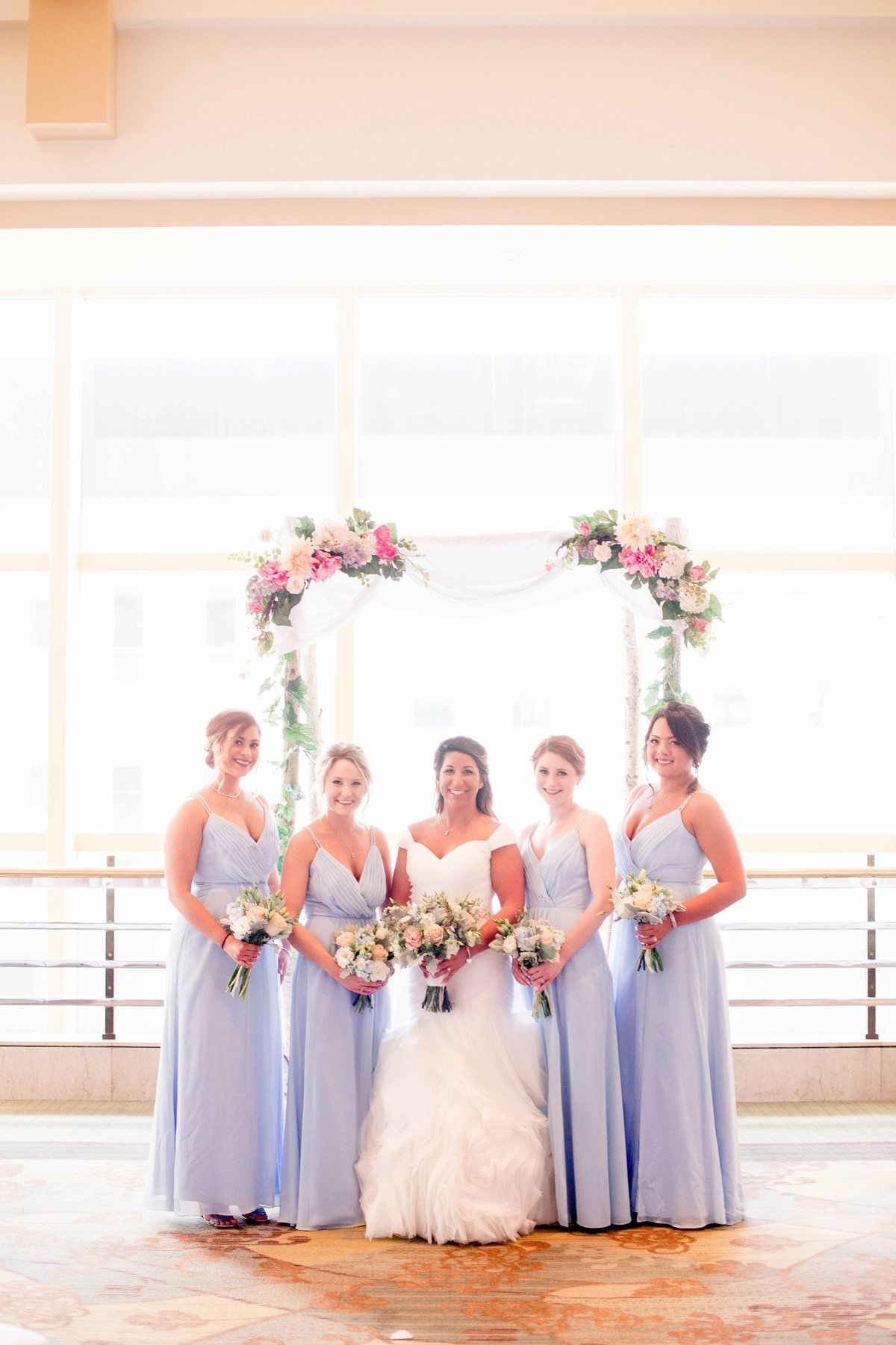 Baby Powder Blue and Blush Summer Park Inn Wedding with First Look by Toledo and Detroit Based Wedding Photographers Kent & Stephanie Photography_1004