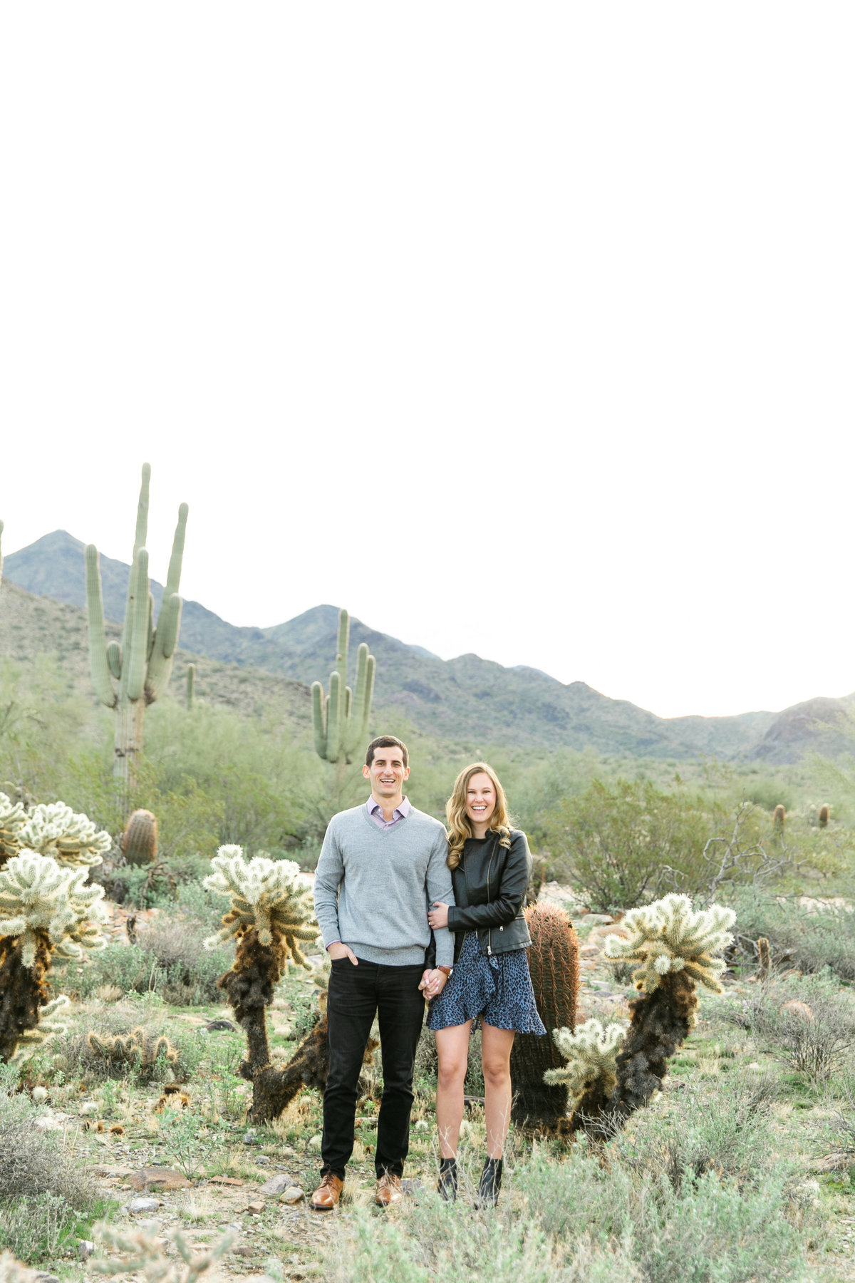 Karlie Colleen Photography - Katherine & Mike Arizona Engagement session- Andaz Wedding-41