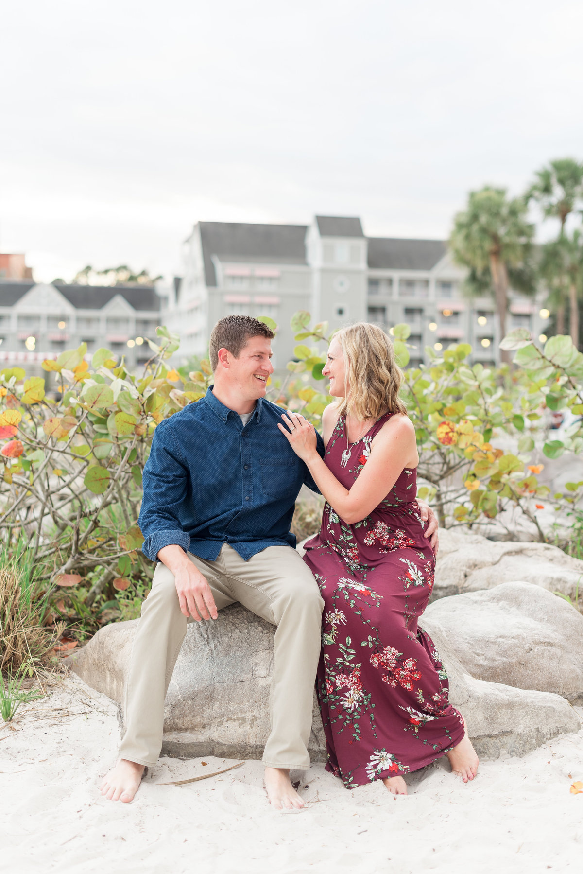Disney Family Photographer, Disney Family Photos at the Boardwalk, Boardwalk Family Session