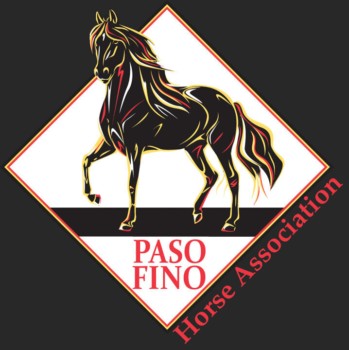 paso fino horse association logo design