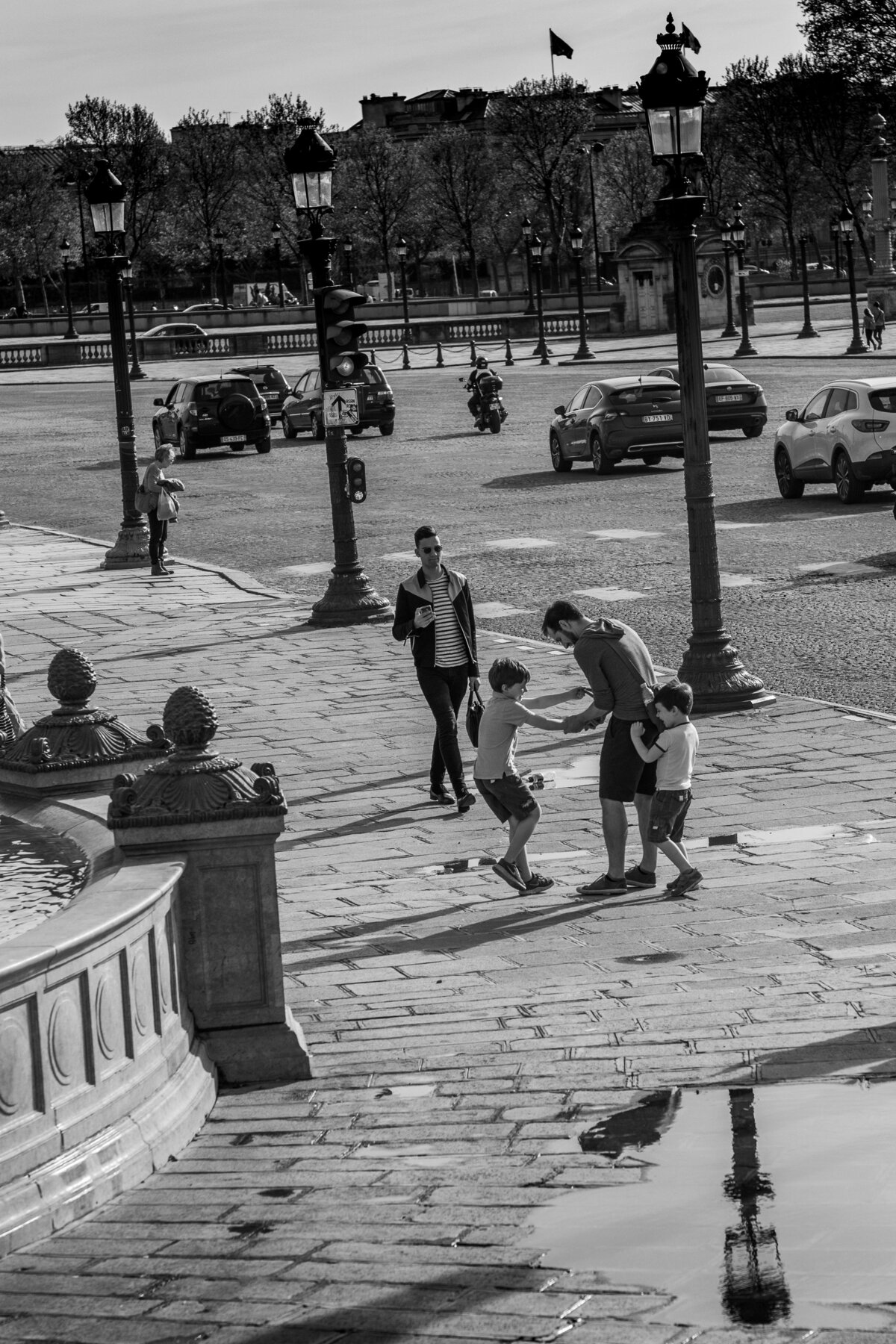 Streets of Paris BW 126