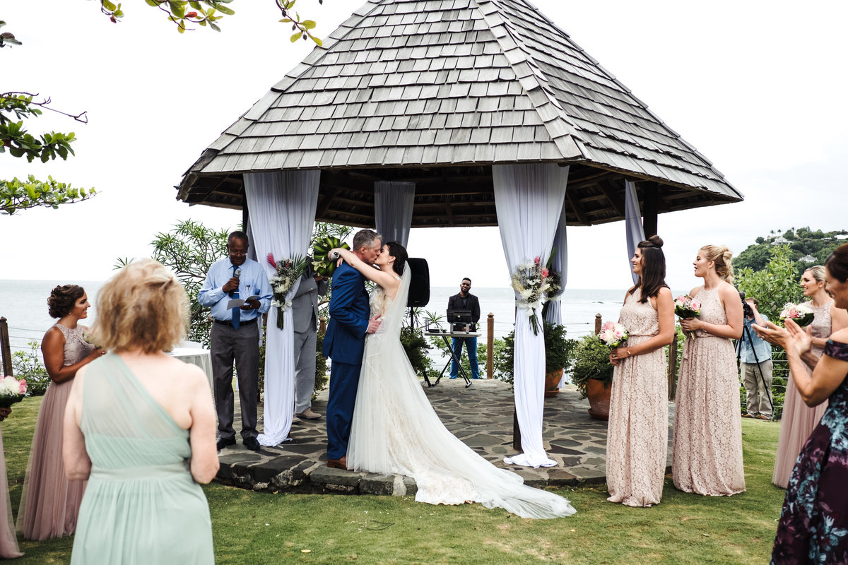 Cap Maison St Lucia Destination Wedding - 132