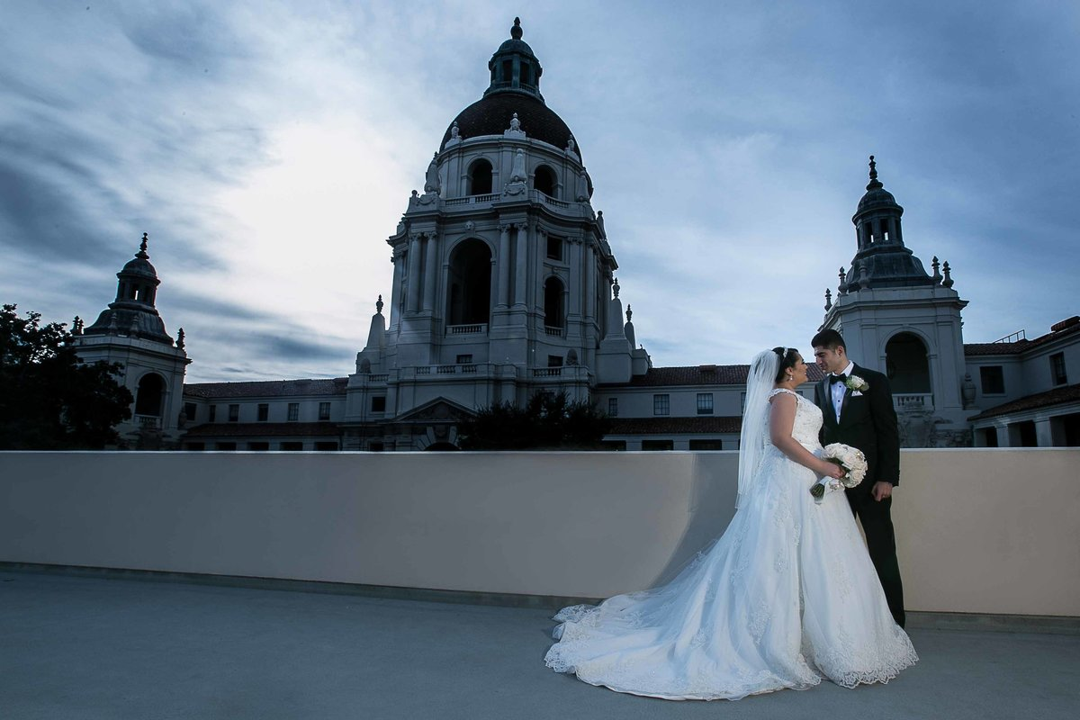 Pasadena City Hall Wedding Photography_