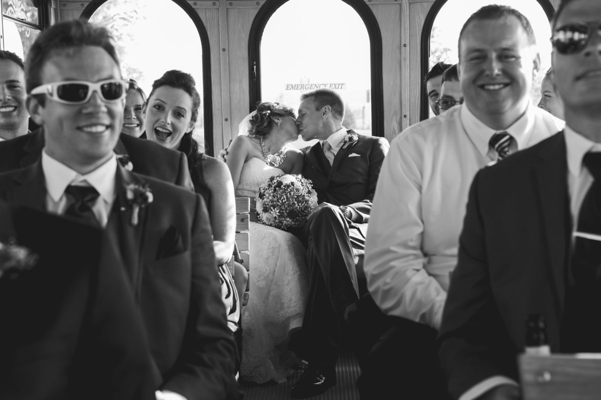 Sturgeon Bay trolley wedding in Sturgeon Bay by Casi Lea Photography-green bay wedding photographer-door county wedding photographer-milwaukee wedding photographer-appleton wedding photographer-wisconsin weddings