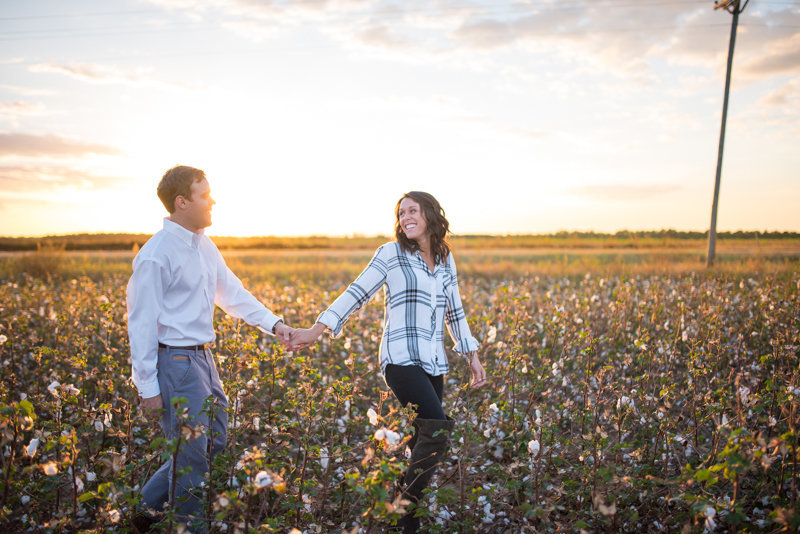 Sunset Engagement Session by Georgia Wedding Photographer Eliza Morrill-26