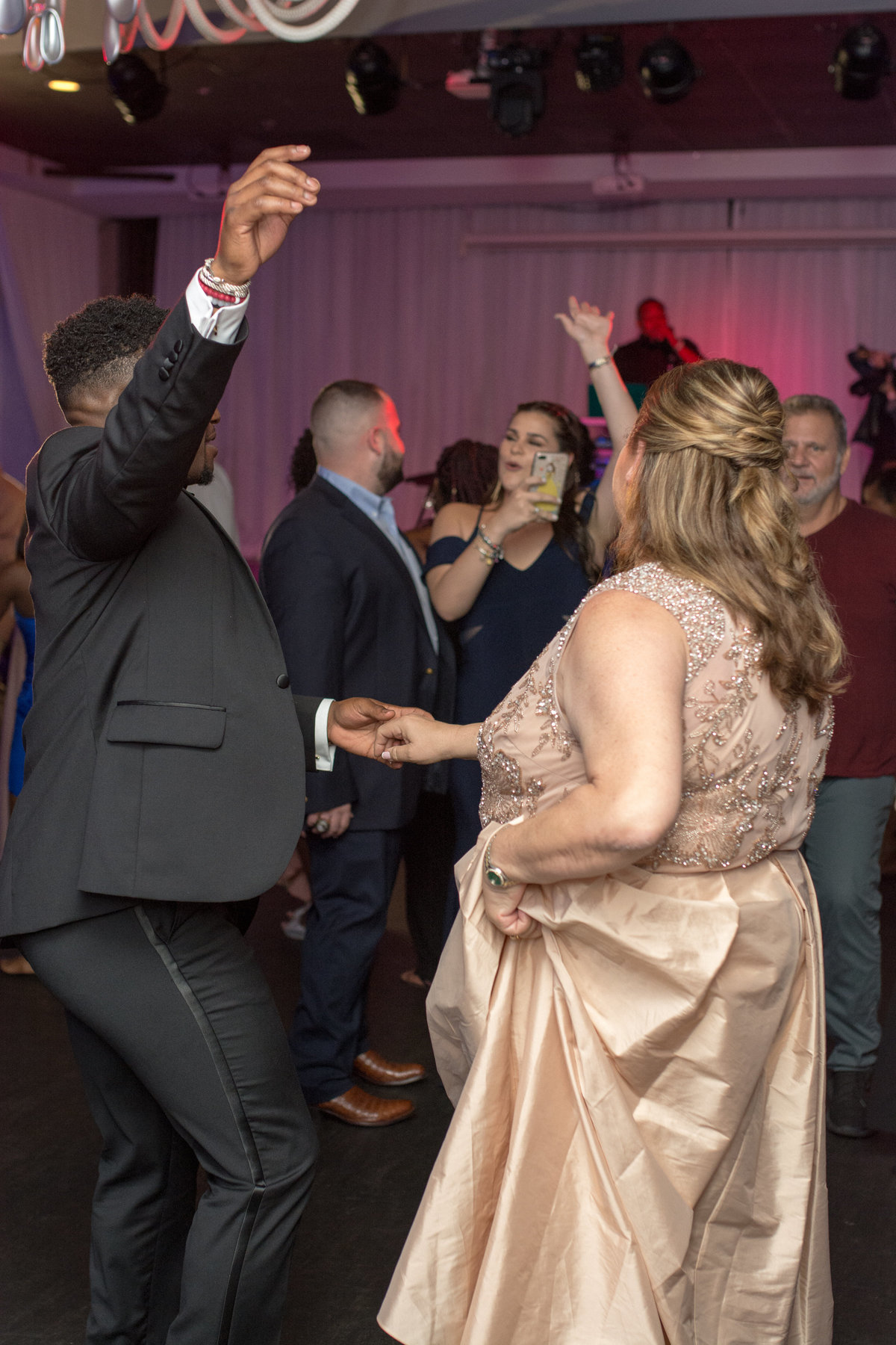 NFL Miami Dolphins Brandon Radcliff ShaKyra Radcliff Briza on the Bay Wedding Andrea Arostegui Photography-276