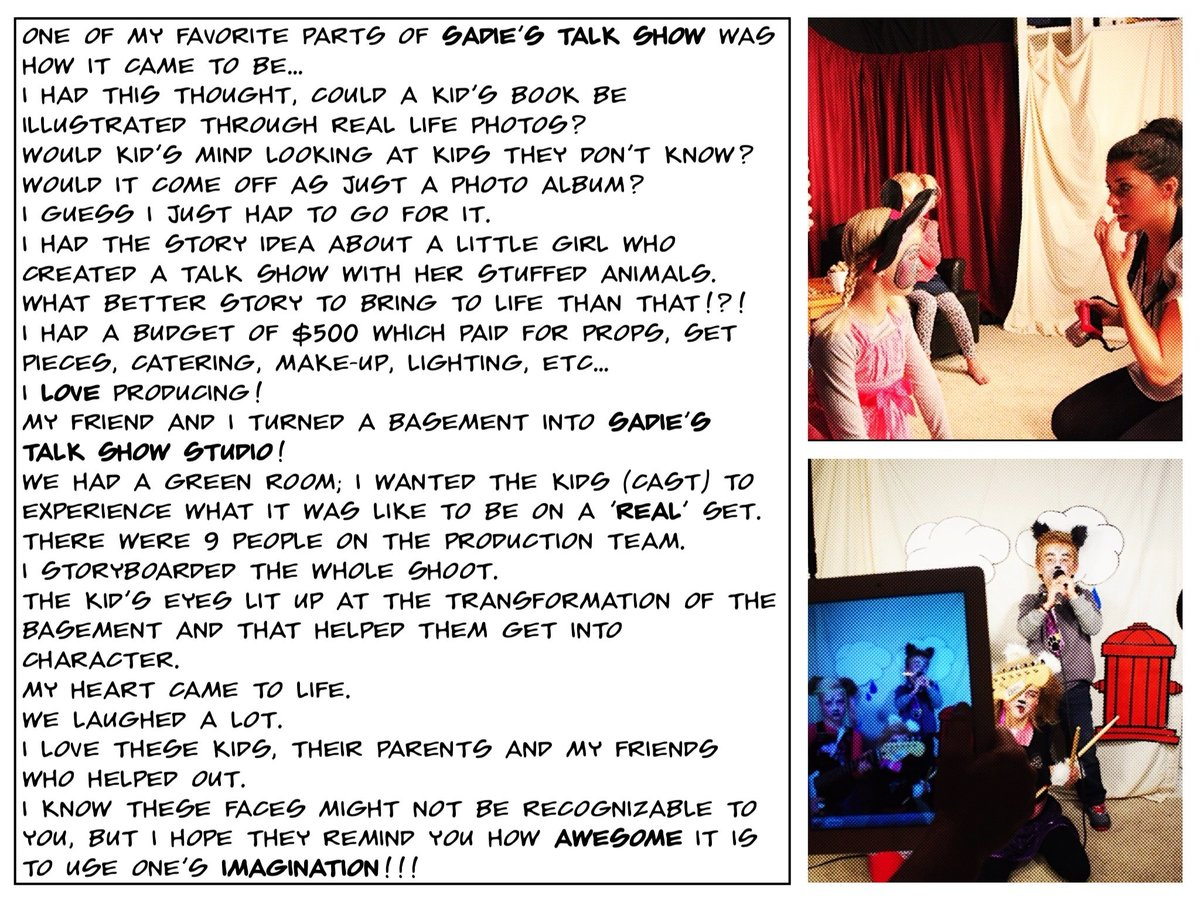Sadie's Talk Show Description