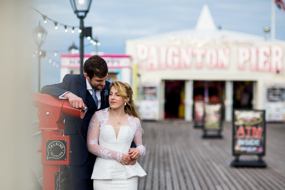 wedding photographer in paignton torbay