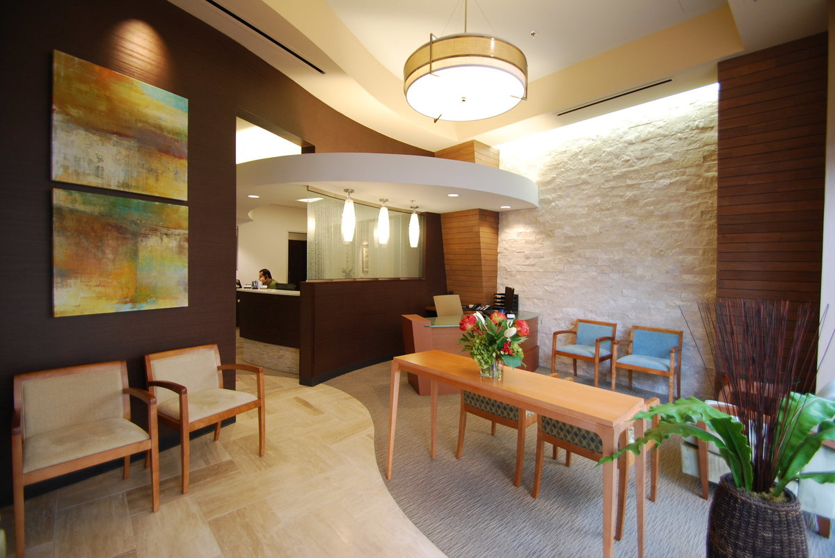 Dental Office Waiting Room Design EnviroMed Design Group Modern