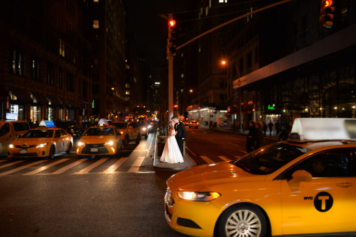 city, taxi, nyc wedding photography, artistic, unique, beautiful