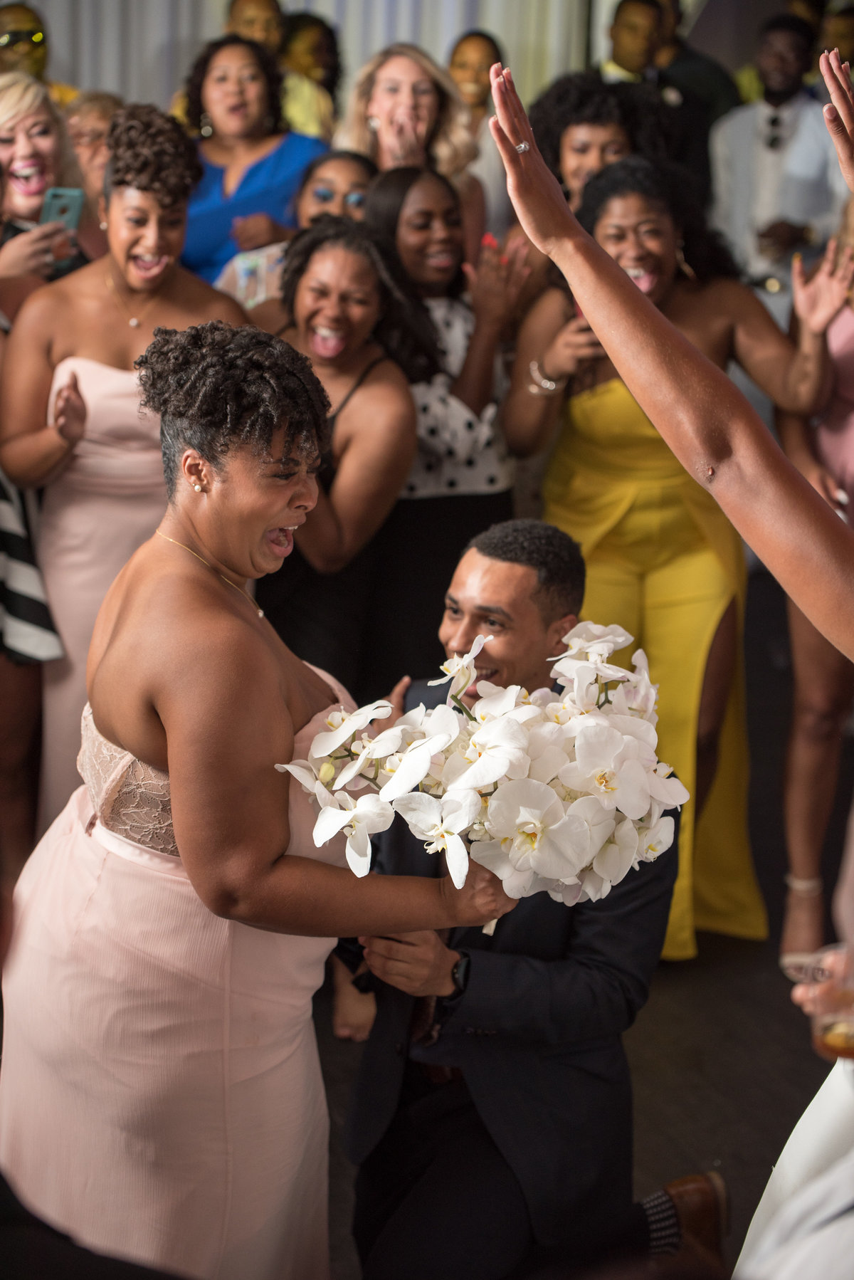 NFL Miami Dolphins Brandon Radcliff ShaKyra Radcliff Briza on the Bay Wedding Andrea Arostegui Photography-318