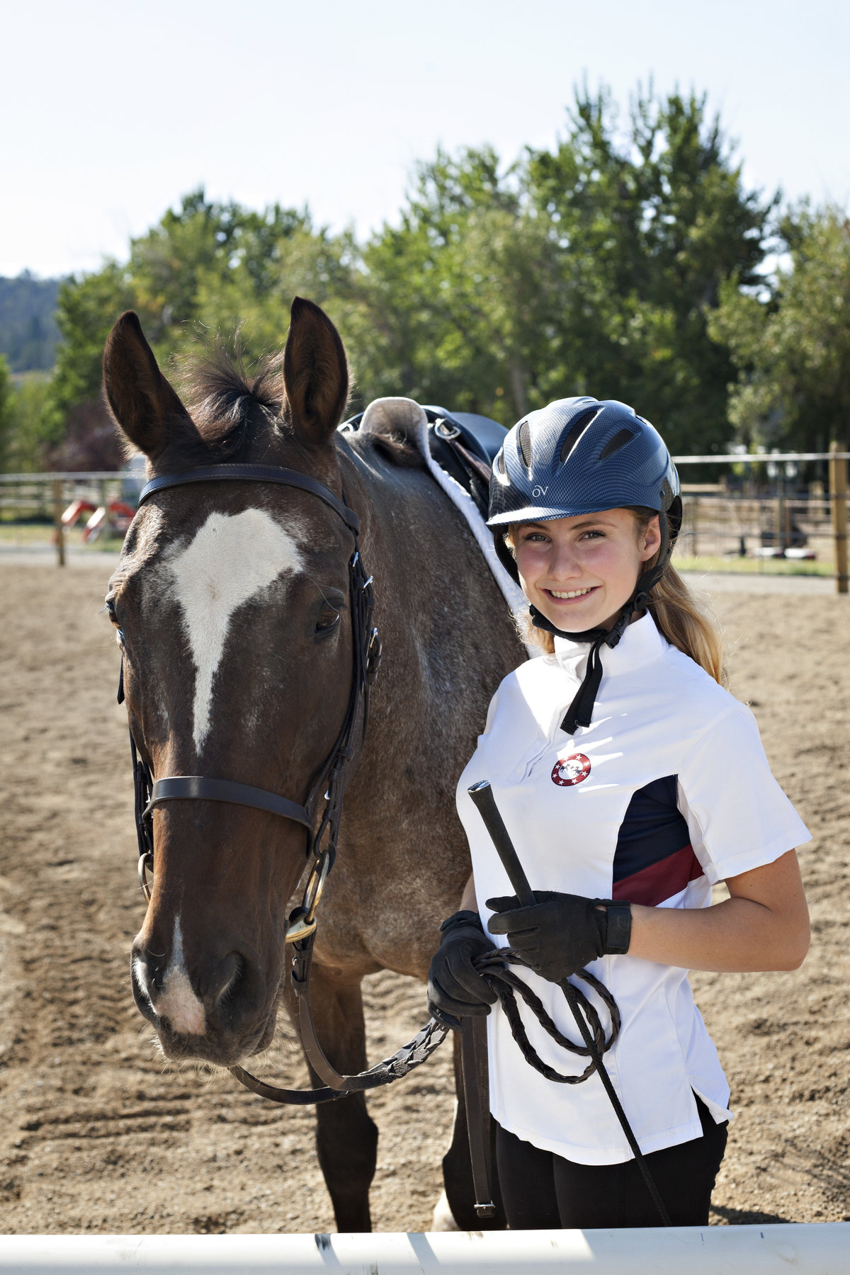 High School Senior Girl Dressage