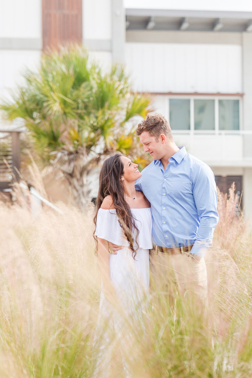 gulf shores engagement session on the beach | Toni Goodie Photography