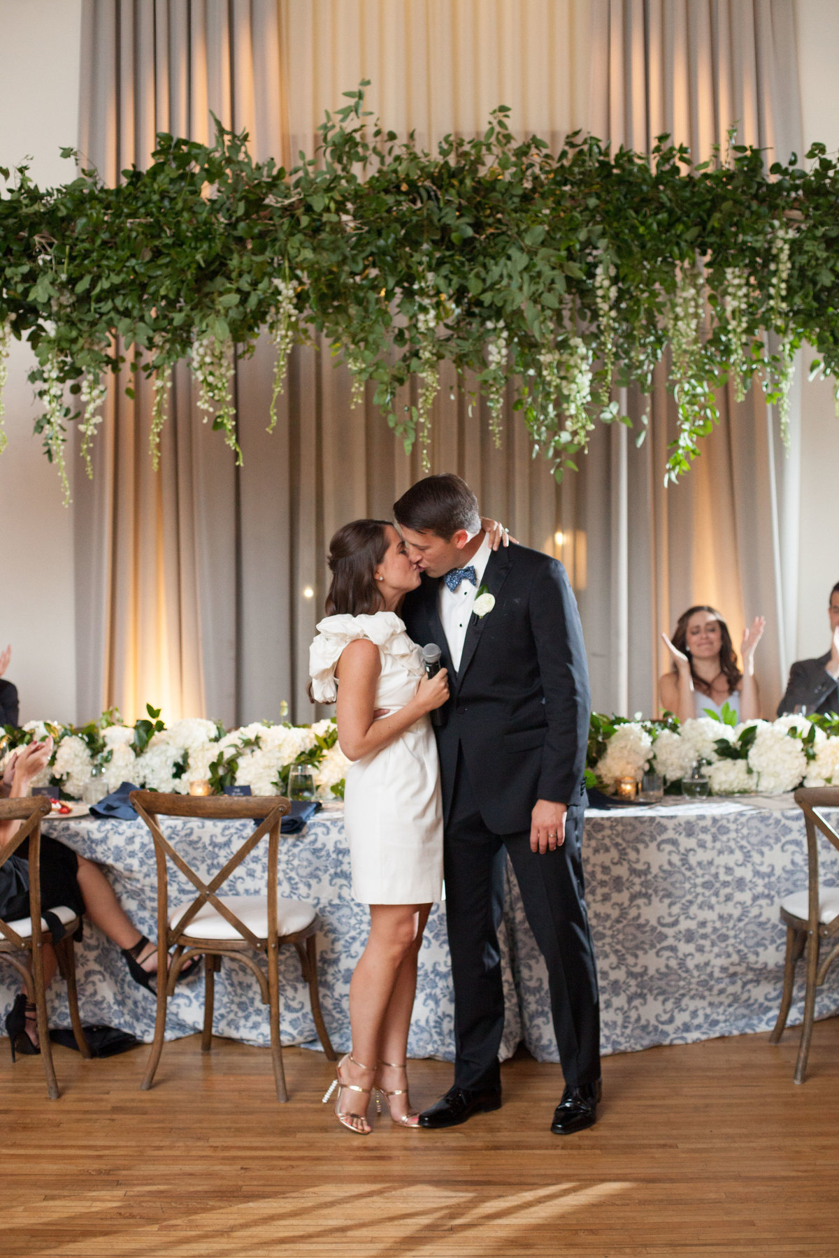 Life in Bloom Best Chicago Wedding Florist Ivy Room Preppy and Classic Wedding23