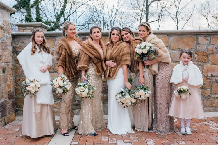 Lauren+Hawkins+group+wedding+pic makeup artist tiffany jocilyn new jersey new york philly bridal