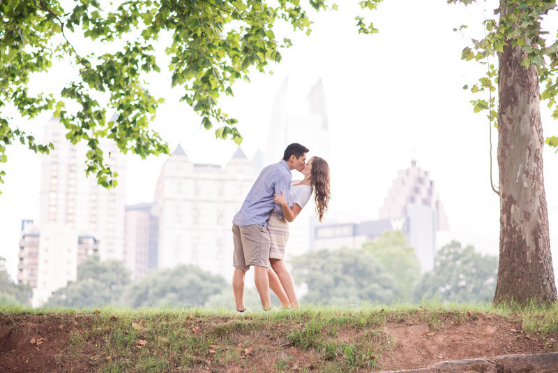 Atlanta Wedding Photographer Eliza Morrill engagement session at summerour studio, ponce city market, and piedmont park-31