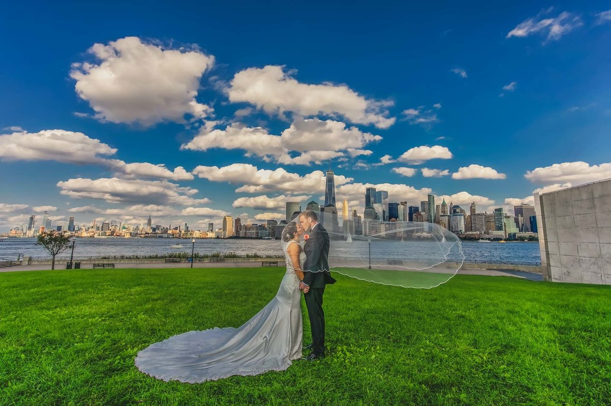 NJ Wedding Photographer Michael Romeo Creations liberty state park wedding