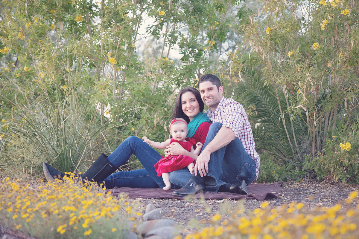 family Portrait in Scottsdale, Arizona