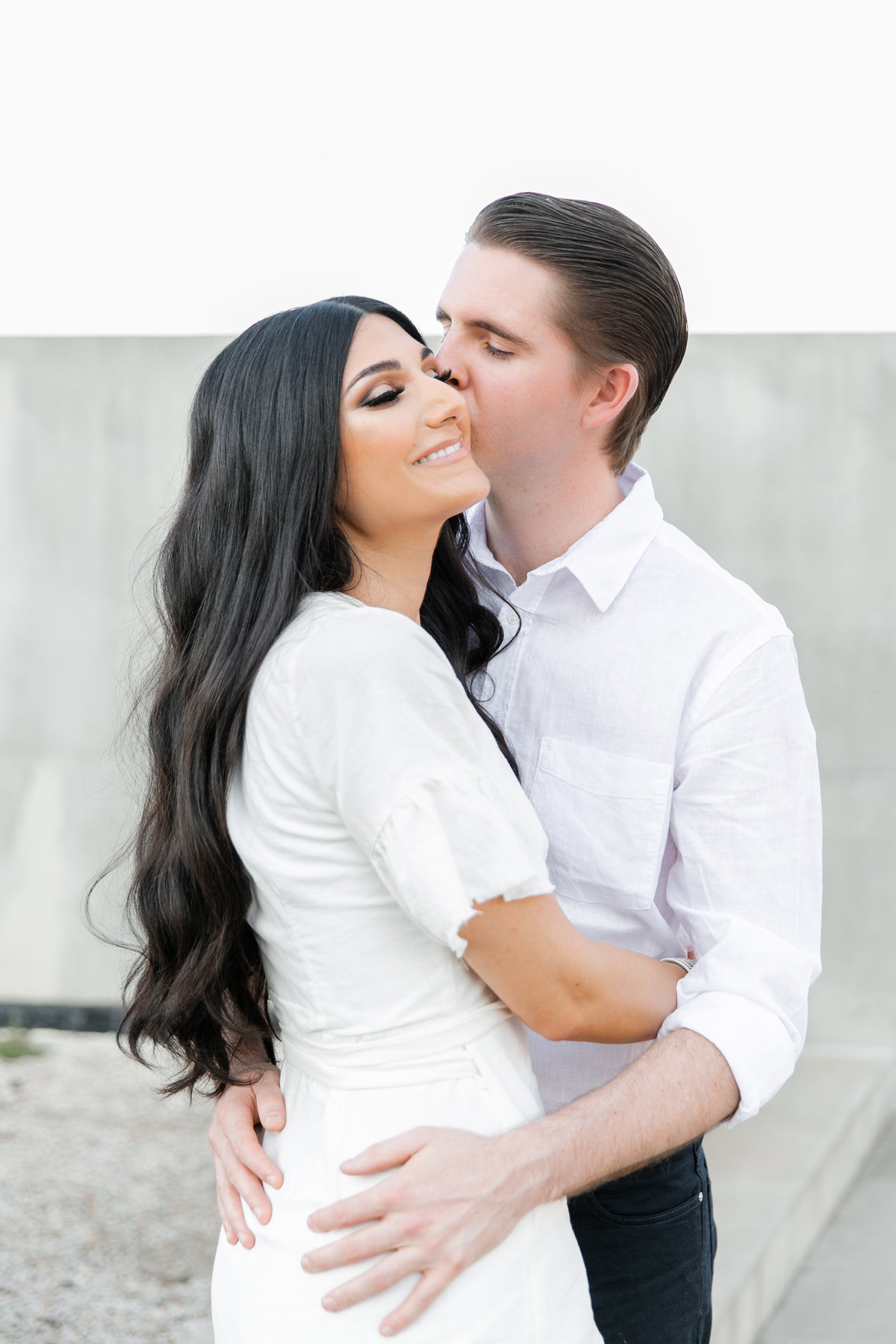Karlie Colleen Photography - Arizona Engagement City Shoot - Kim & Tim-40