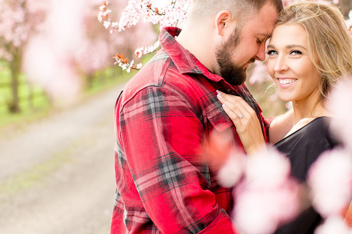 Lance + Jaylene | Emily Moller Photography | Spring Country Engagement Session  (1 of 1)-14