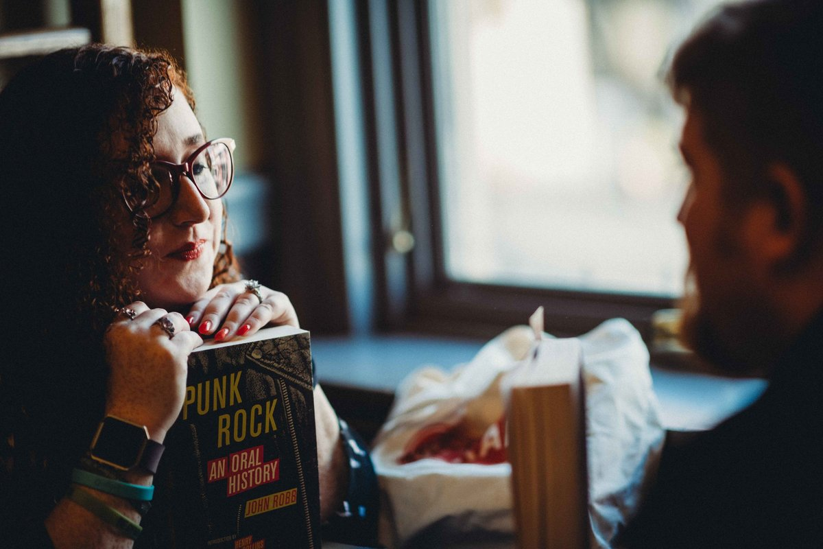 28 coffeehouse engagement session with books for wadsworth mansion wedding
