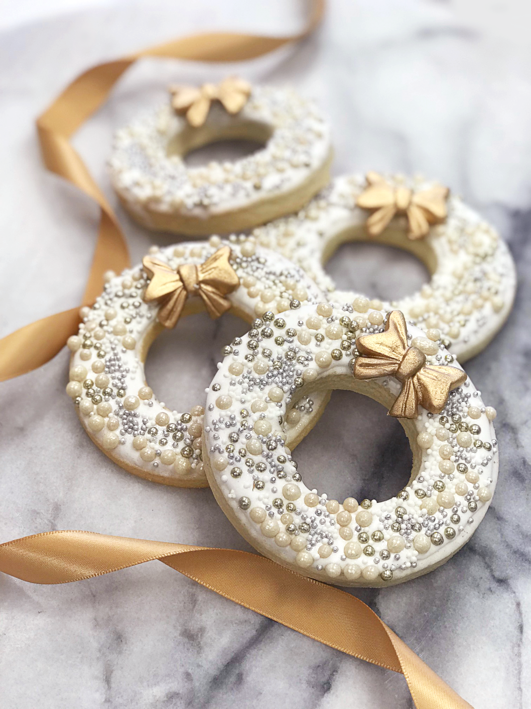 Whippt Desserts - Holiday Sugar Cookies 2017 Wreath