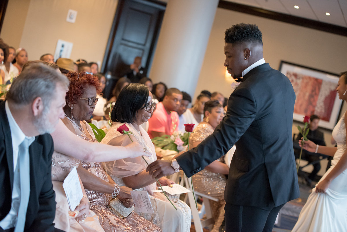 NFL Miami Dolphins Brandon Radcliff ShaKyra Radcliff Briza on the Bay Wedding Andrea Arostegui Photography-121