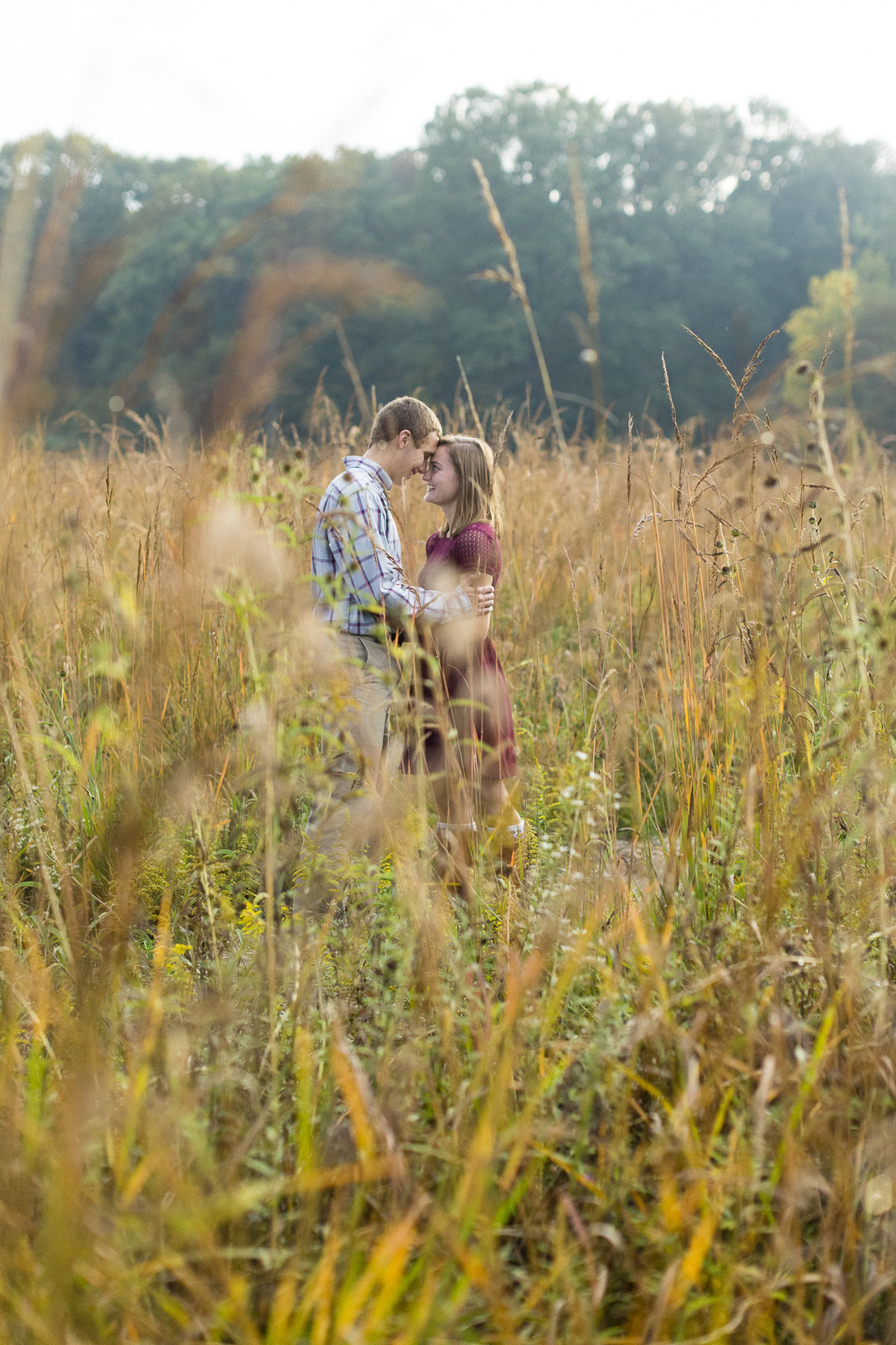 Indiana country engagement session