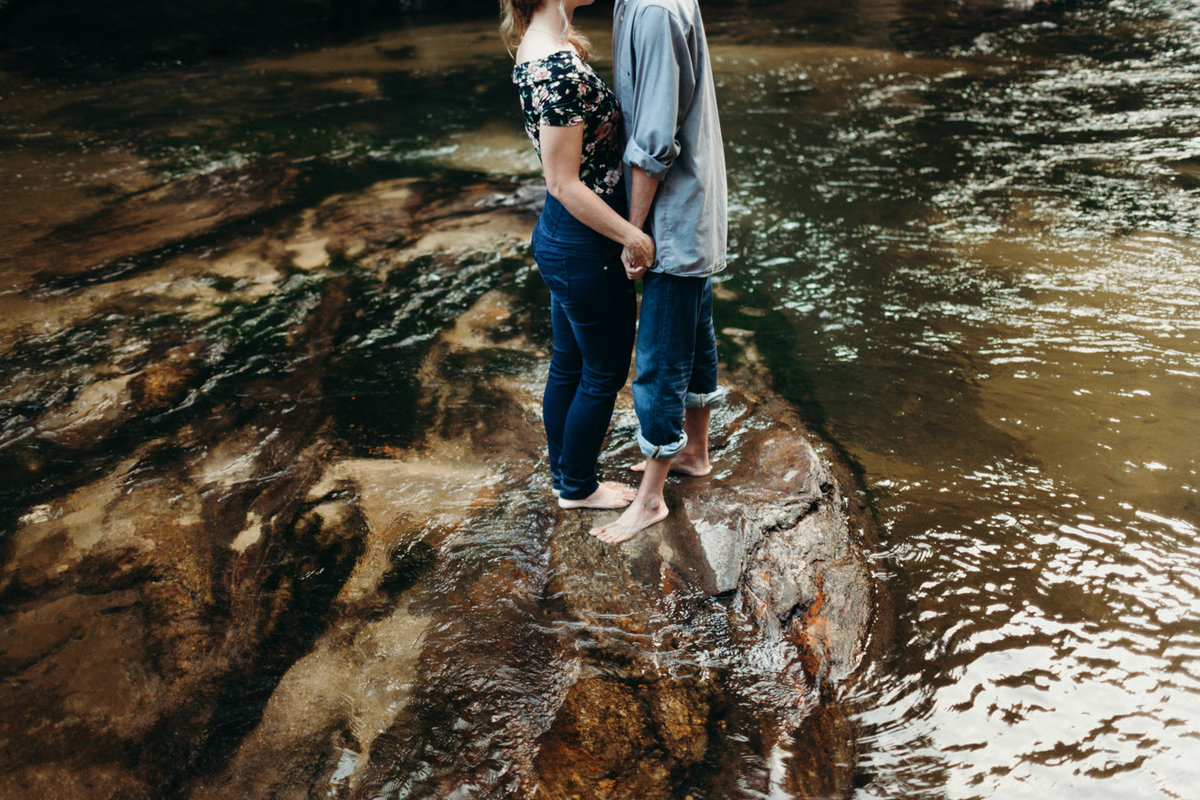 Wedding Photographer Greenville SC , Engagement Photographer Greenville SC , Wedding Photographer South Carolina, Simply Violet Photography, Chattooga River Engagement