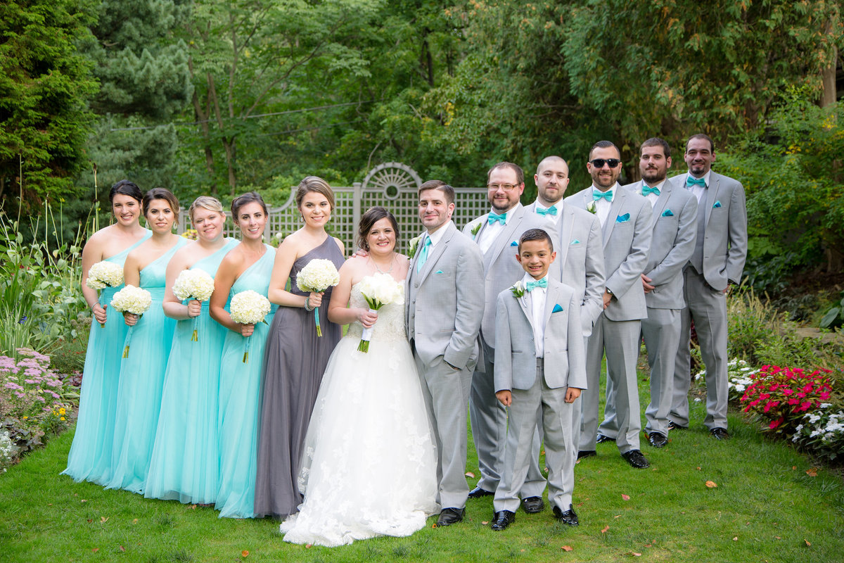 66 wedding photography Bridal Party Formal Portrait