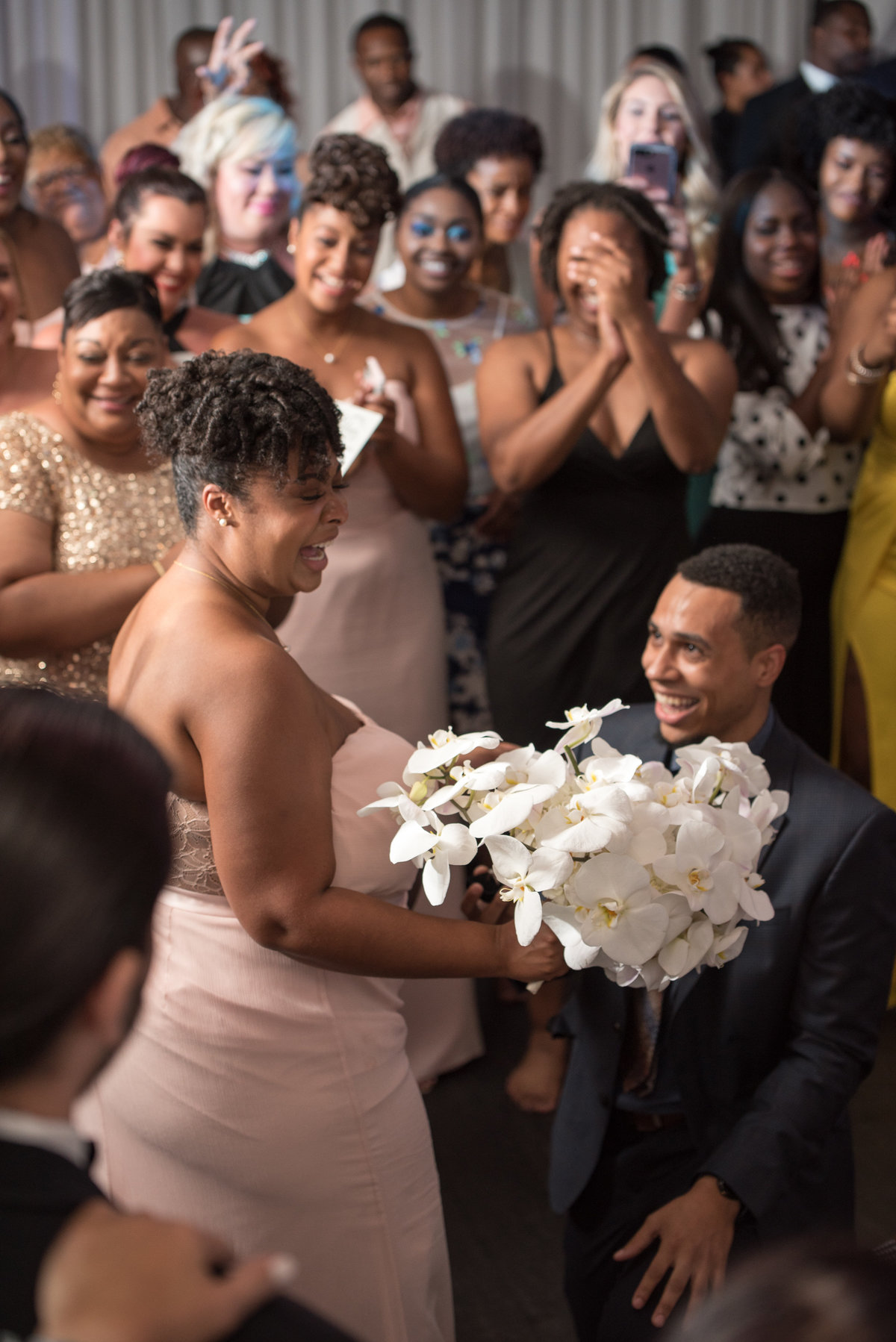 NFL Miami Dolphins Brandon Radcliff ShaKyra Radcliff Briza on the Bay Wedding Andrea Arostegui Photography-320