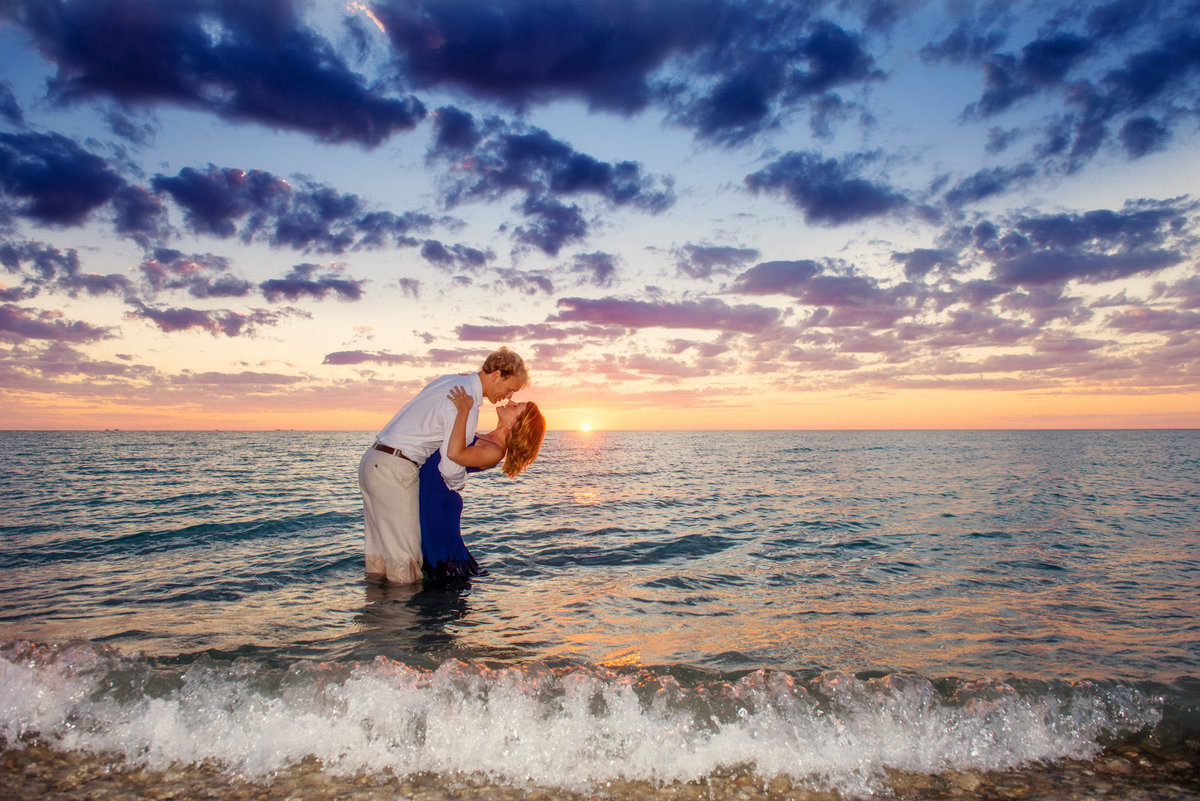 frankfort michigan engagement photographers