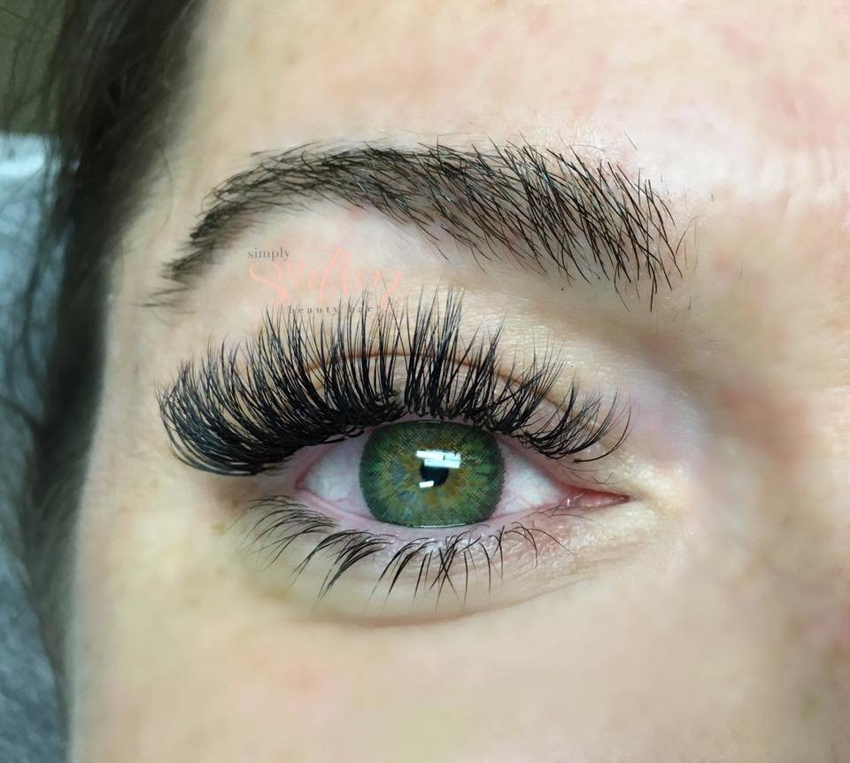 bridal volume lashes