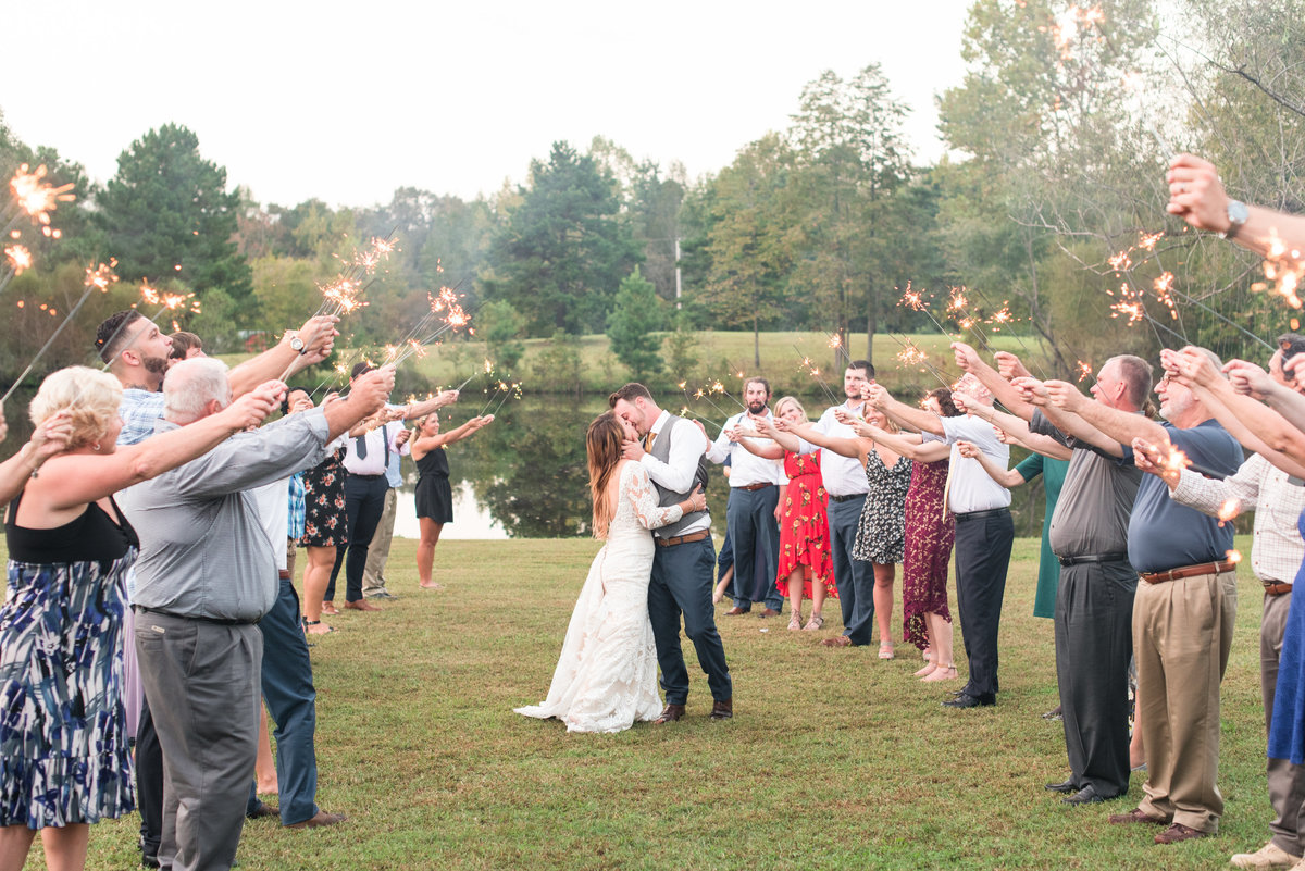 A Outdoor Private Home Wedding, Michelle and Sara Photography, Mebane NC9
