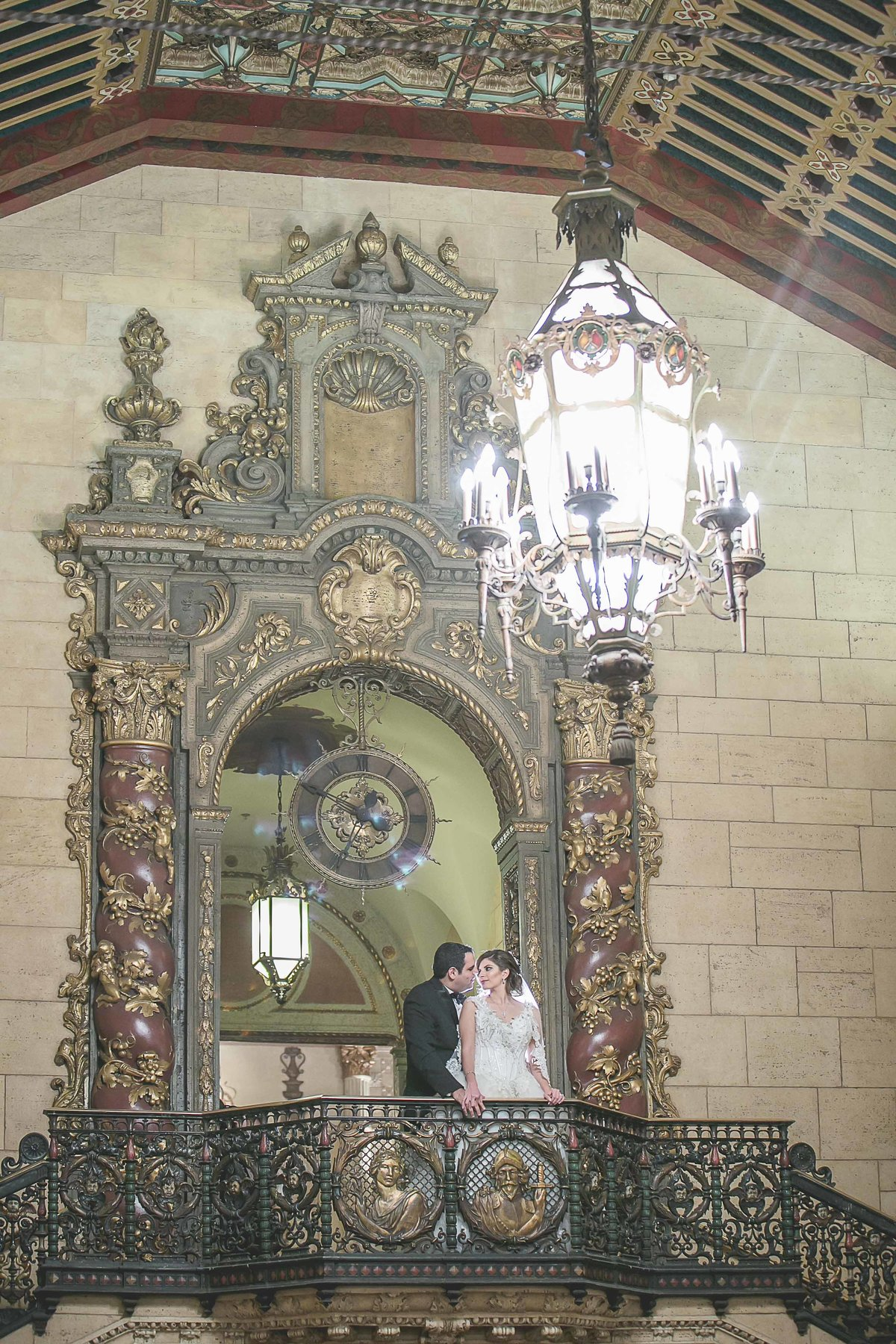 Wedding Portraits In Millennium Biltmore Hotel_
