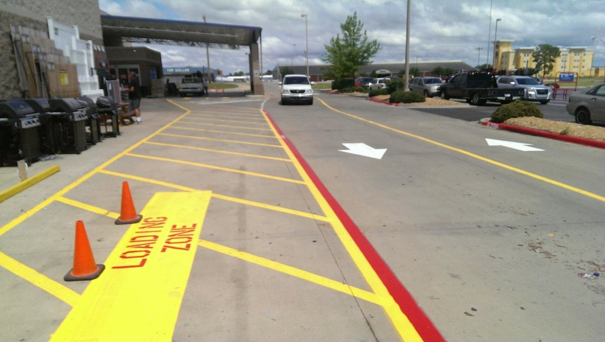 Lowes-Durant, OK-Striping Pics (14)
