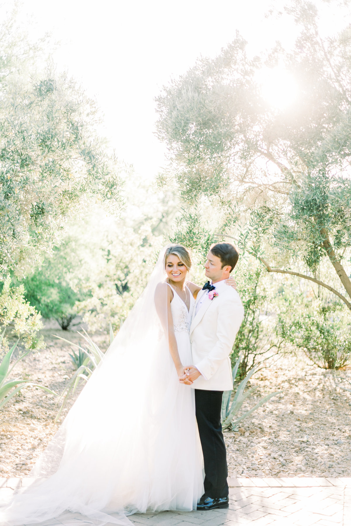 Karlie Colleen Photography - El Chorro Arizona Desert Wedding - Kylie & Doug-842
