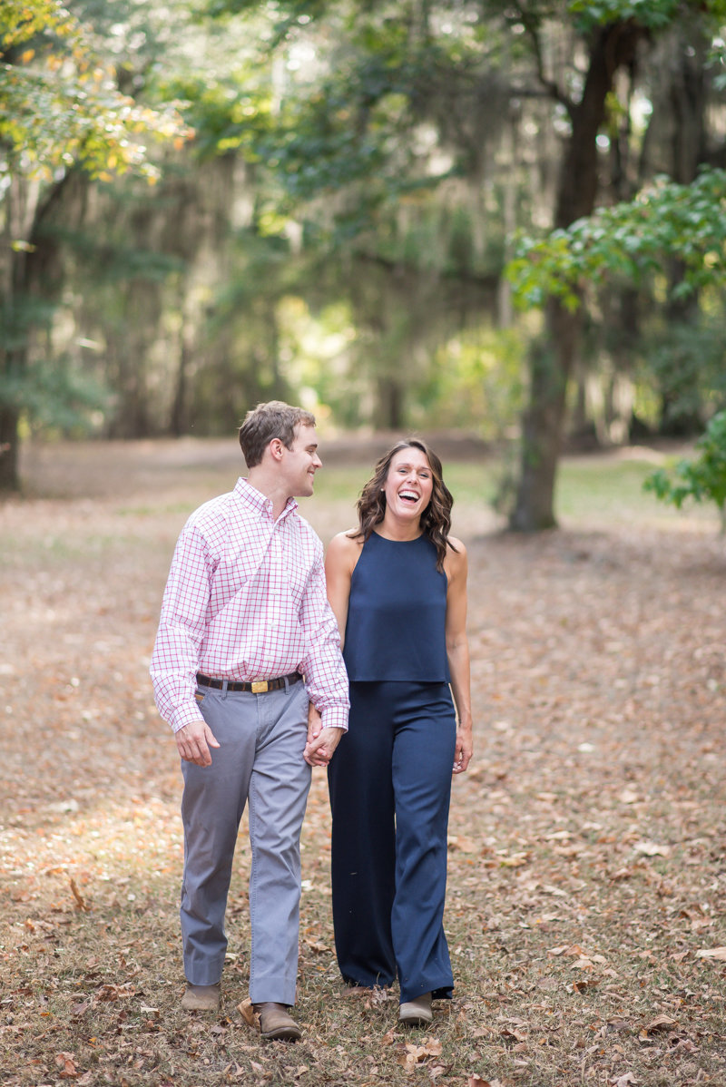 Sunset Engagement Session by Georgia Wedding Photographer Eliza Morrill-10