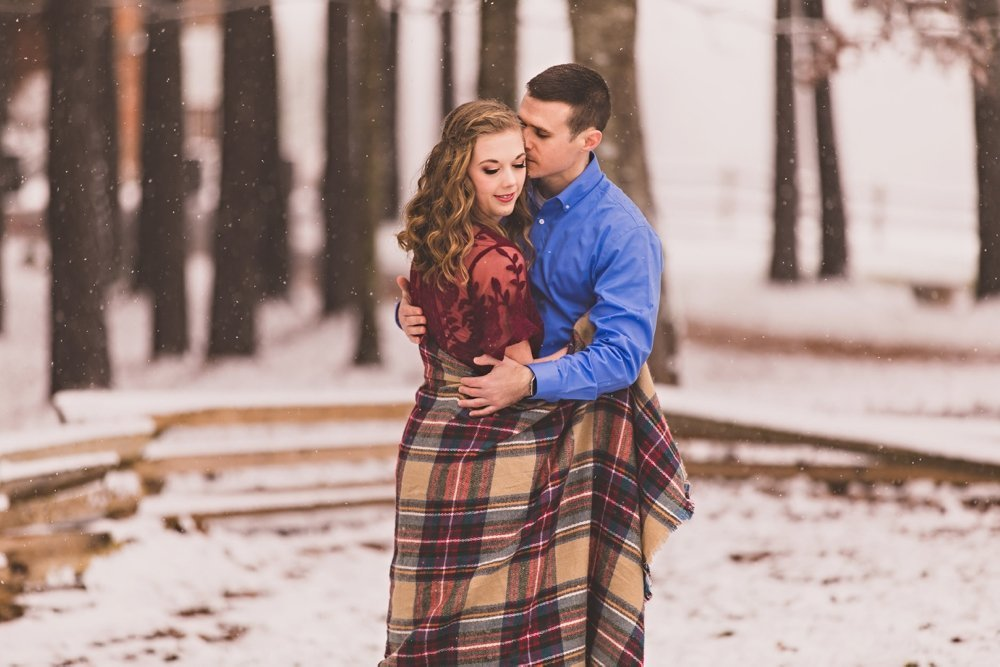 Snow Engagement Session at Sierra Vista VA_0013