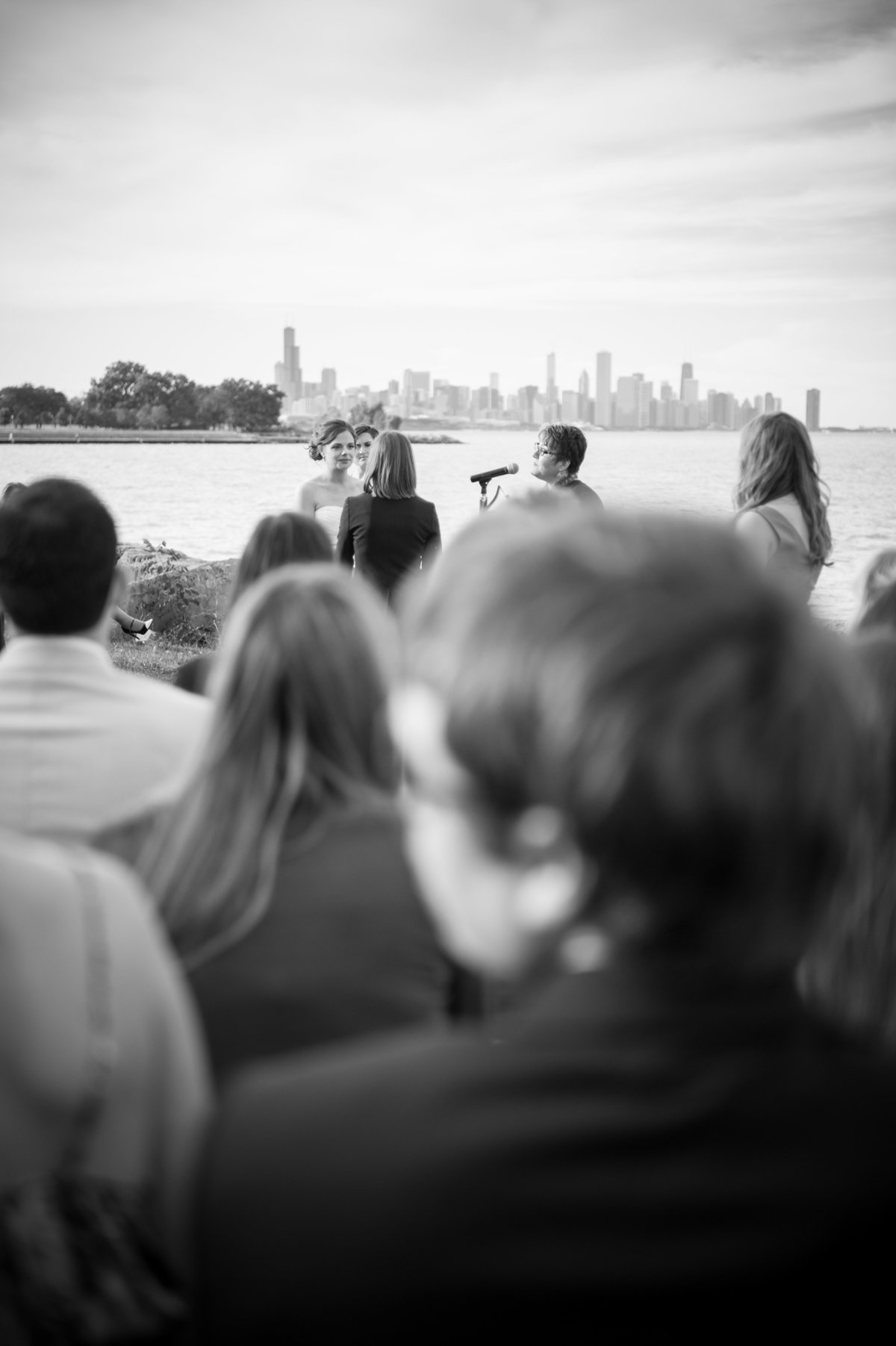 Destination Wedding Photography Chicago Wedding Photography LGBT Wedding Photography Promontory Point073
