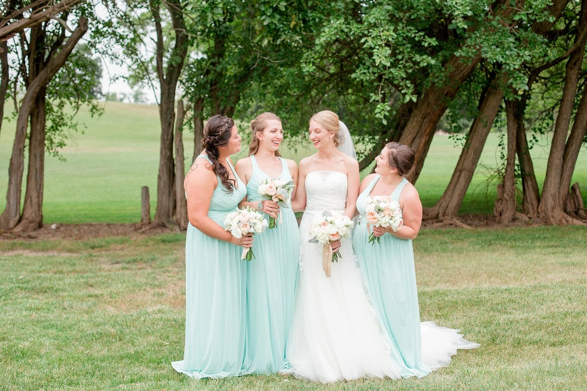 Mint and Blush Nazareth Hall Fall Wedding with First Look by Toledo and Detroit Based Wedding Photographers Kent & Stephanie Photography_0889