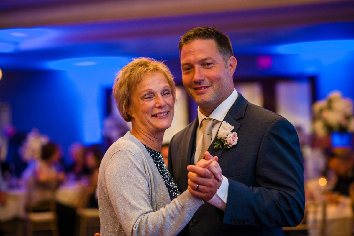 32 mother son dance at waters edge wedding