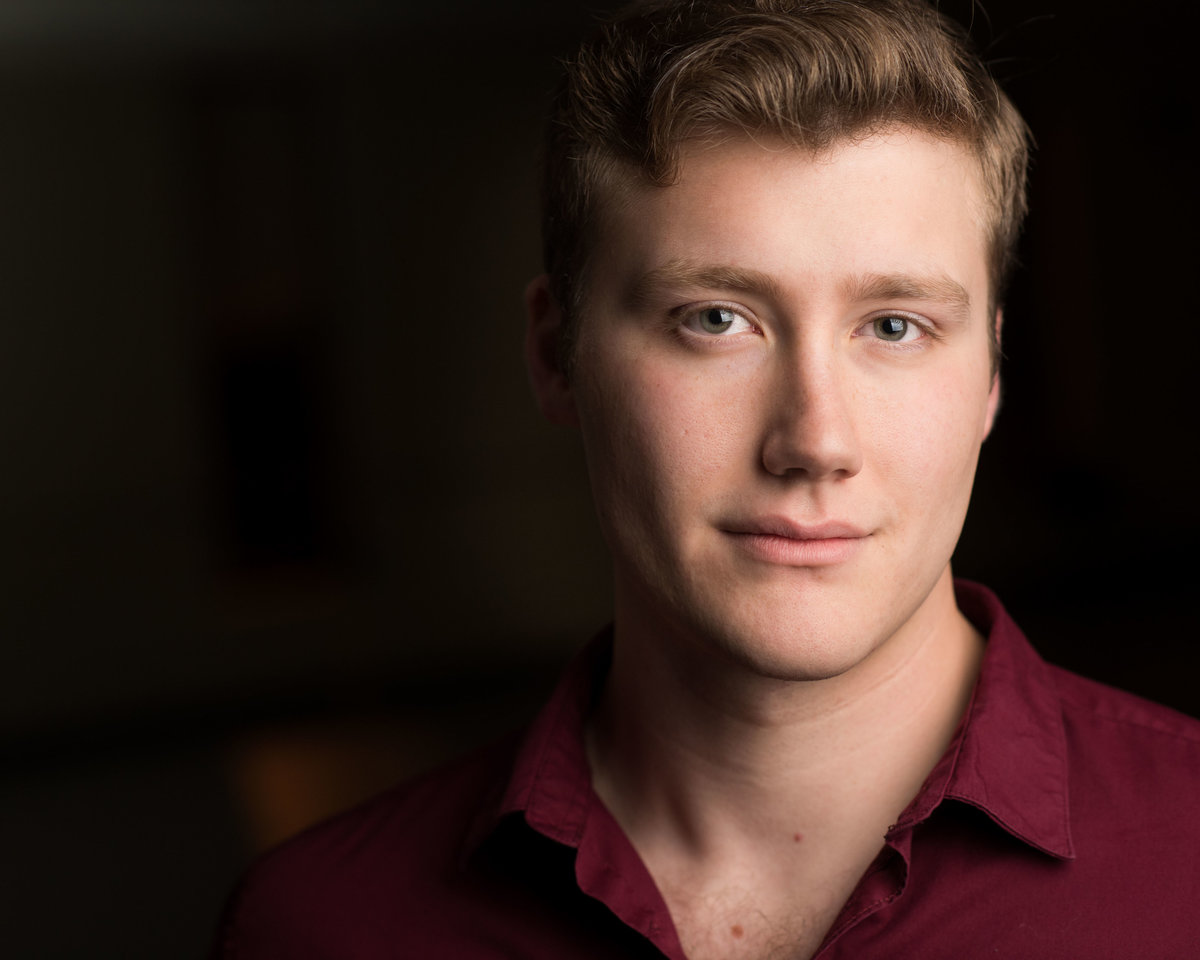 Cleveland actor headshot, male, musical theatre.
