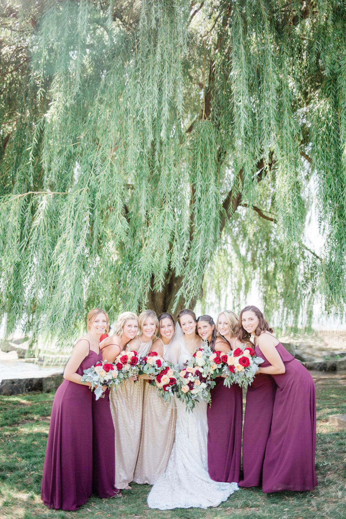 Edgewater Park, Wedding Bridal Party